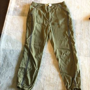 Anthropologie jogger pants